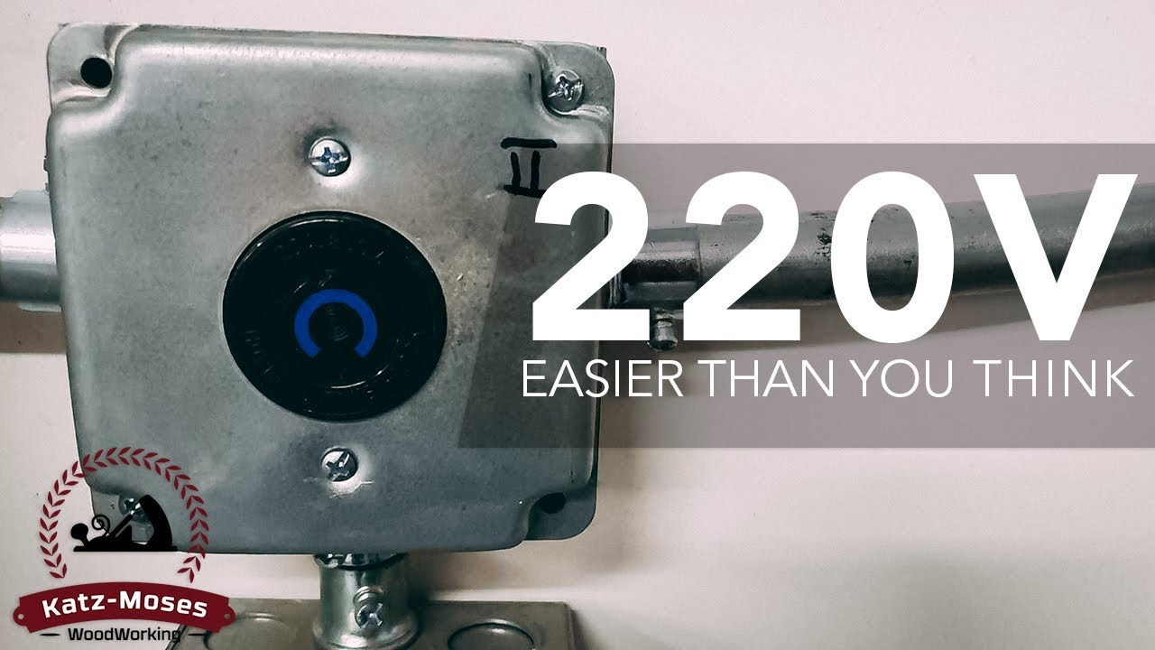 medium resolution of installing 220v outlets in the shop easier than you thought