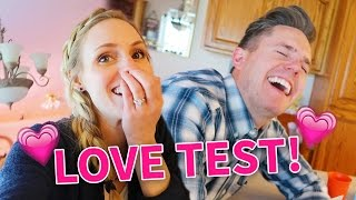 SHOCKING LOVE TEST RESULTS!