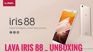 #LAVAIRIS88 unboxing LAVA IRIS 88 ...2018