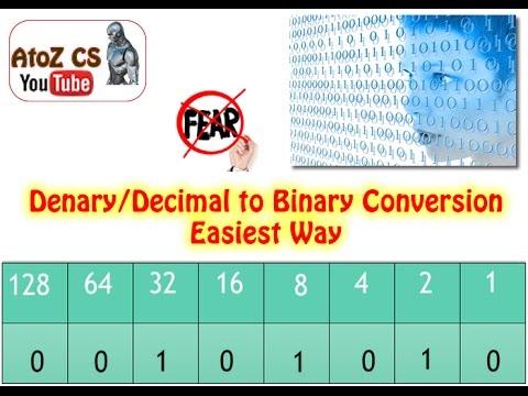 Convert decimal to 8 bit binary online