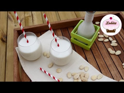 Receta de leche de almendras casera   Leche vegetal casera
