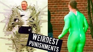 5 WEIRDEST PUNISHMENTS! thumbnail