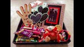 #Surprise Gift box #Box of Joy n surprise #L❤ve gift box # box full of surprise gifts...🎁 for ur sp