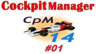 Cockpit Manager - Primeiras corridas - E02/T01