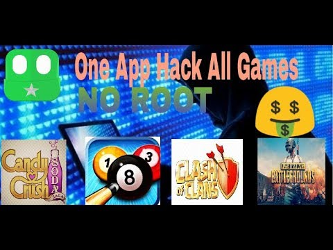 How to hack any game with only one app  NO ROOT