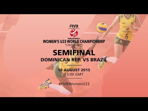 Live: Dominican Republic v Brazil - FIVB Volleyball Women's