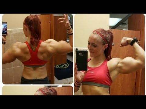 20 Years Old Big Biceps Women Katie Sheridan Fbb Female Bodybuilder