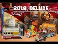 2018 Disney Cars Deluxe Overview - Van Scanlane, Frank, Murphy, Miss Fritter,  Mater Cone Teeth