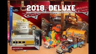 Disney Pixar Cars Van Scanlane Deluxe