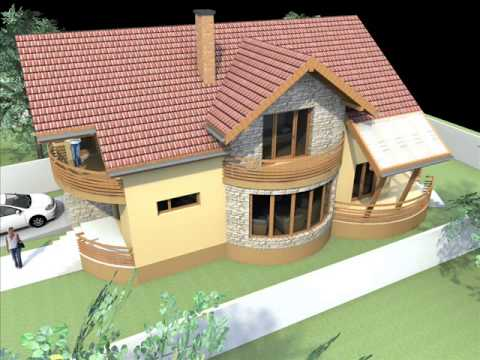 Modele case modele de case modele casa modele de casa for Youtube case cu mansarda