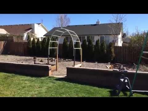 Easy Build - Garden Arch Trellis