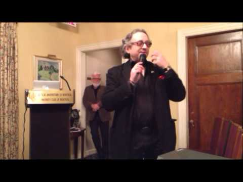 Montreal Press Club 65th Anniversary with Terry Mosher - Part 1