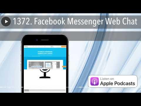 1372. Facebook Messenger Web Chat