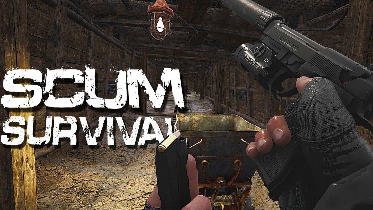 Download SCUM - Episode 4 - WATCH YOUR STEP!! (Survival Season 1)