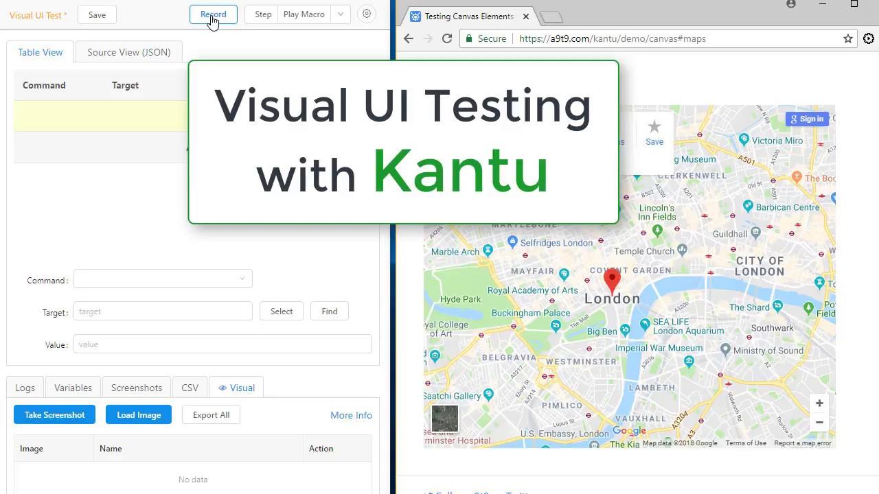Get UI Vision 2019 (aka Selenium IDE++)  Open-Source AI