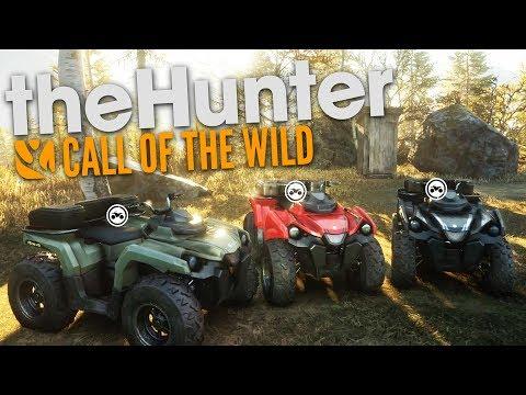 The Hunter Call Of The Wild | ATV ROAD TRIP!! (DLC)