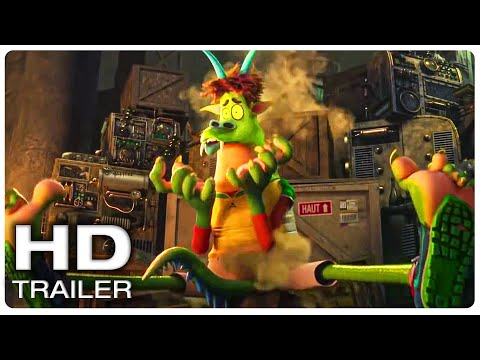 "HOTEL TRANSYLVANIA 4 ""Dracula Meets Monster Johnny"" Trailer (NEW 2021) Animated Movie HD"