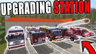 EXPANDING TO A NEW  FIRE STATION | FARMING SIMULATOR 2017