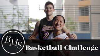 Basketball Challenge w/ Rayver Cruz (Kobe Bryant Tribute) | Laureen Uy