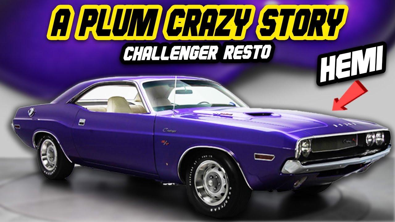 Restoring a 1970 Dodge Hemi Challenger the owner never saw..