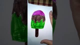 Cách làm squishy cây kem