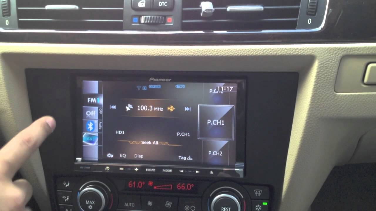 2008 Bmw 328i Custom Installed A Double Din Pioneer Avic