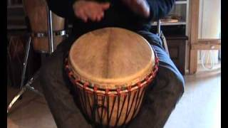 Djembe rhythms and grooves for kids, Kuku, Patatje, Kono, Yankadi, Rumba