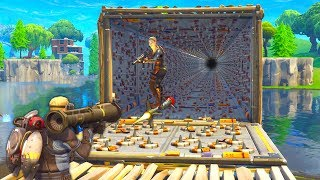 *IMPOSSIBLE* INFINITY TRAP TUNNEL TRACK in Fortnite Battle Royale!