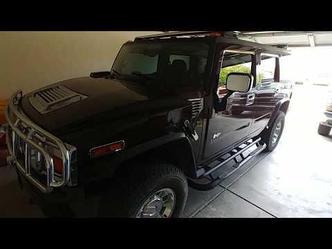 2004 Hummer H2 Deck + Subwoofer Install