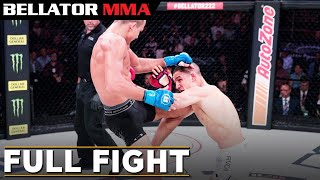 Full Fight | Adam Borics vs. Aaron Pico - Bellator 222