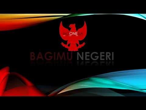 Bagimu Negeri - with lyrics