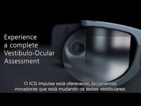 Experience a complete Vestibulo Ocular Assessment - ICS Impulse Video Head impulse test - Portuguese