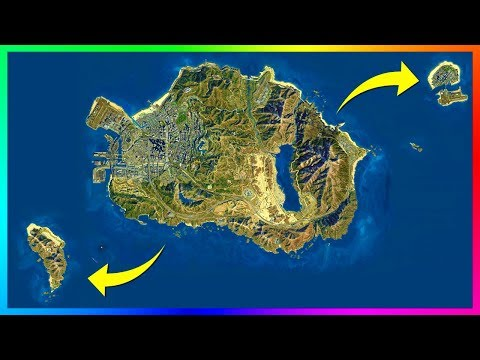 GTA Online REALISTIC Map Expansion With Multiple NEW Islands - How Rockstar Could Easily Do This!