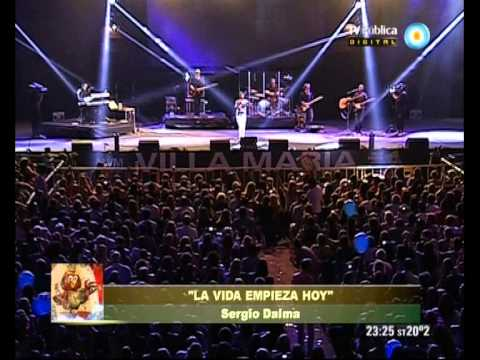 Festival Villa María 2013   2º Noche   Sergio Dalma 1 de 2