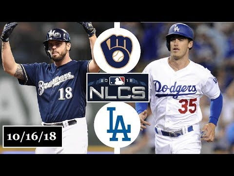 Milwaukee Brewers vs Los Angeles Dodgers Highlights || NLCS Game 4 || October 16, 2018
