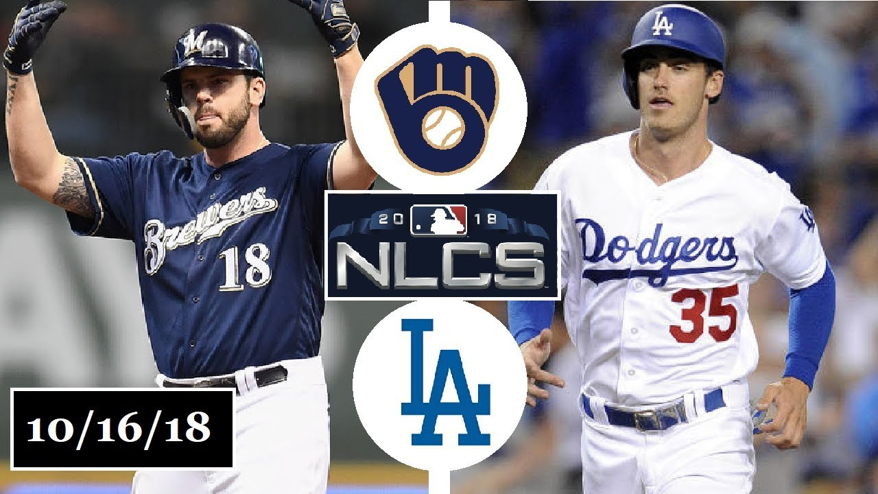 Milwaukee Brewers Vs Los Angeles Dodgers Highlights Nlcs Game
