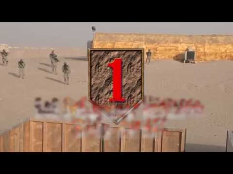 1st Infantry Division Army Football Spirit Video