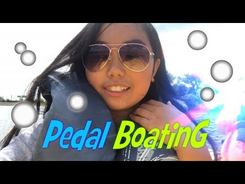 Pedal Boating At Twin Lakes - Palatine, Illinois