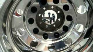 Semi 22.5x8.25 Aluminum Wheels Dually Kit
