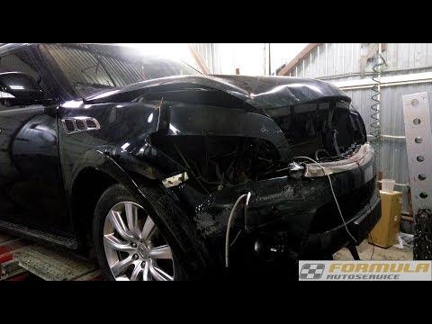 Infiniti Qx56 кузовной ремонт в F-autoservice