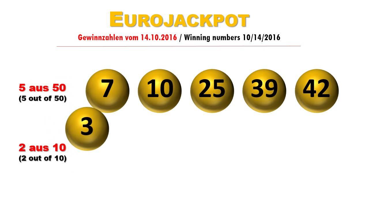 Gewinnzahlen Jackpot