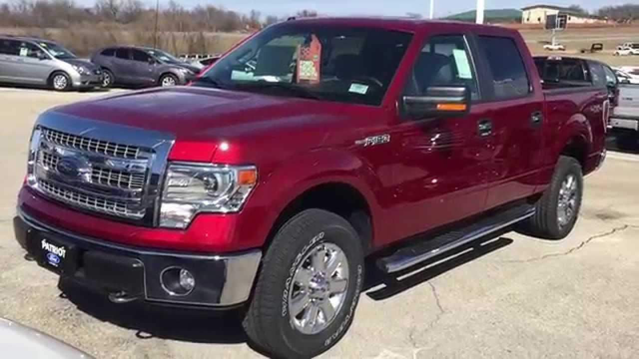 Ekg57366 2014 Ford F 150 Xlt Ruby Red Patriotford Youtube