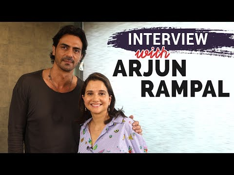 Arjun Rampal  with Anupama Chopra  Daddy
