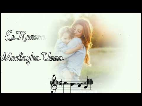 Kannin Mani pol En Umma - Song Lyrics Status 🎶