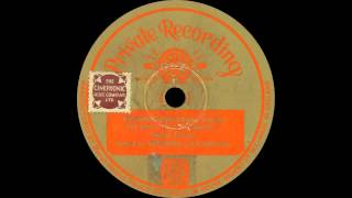 Vernons Football Pools Advertising Record - Over My Shoulder - 1934