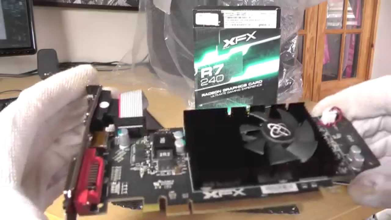 AMD Radeon R7 240 - Unboxing Video by Pure GPU