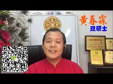 2019年十二生肖运程 - 狗 :黄春霖老师