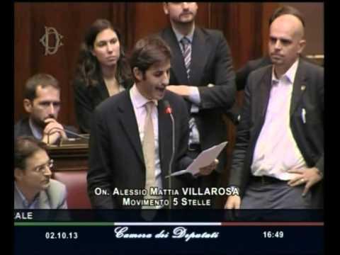 Discorso Camera Villarosa : M s camera il discorso sulla fiducia di alessio villarosa