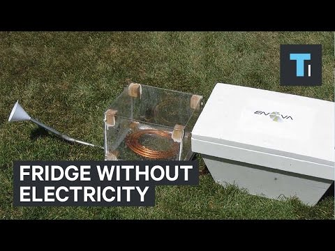 Fridge without electricity