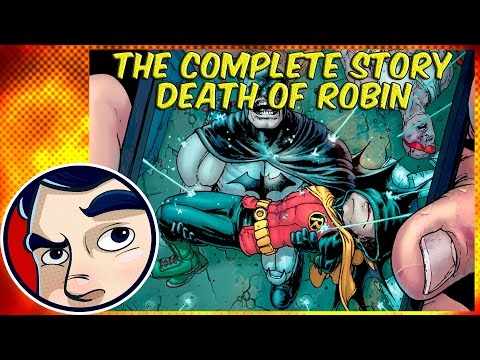 Batman INC Death of Robin - Complete Story